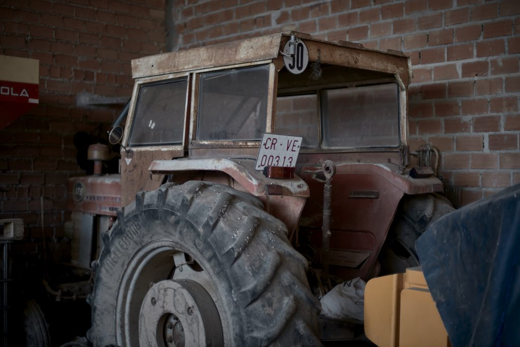 Primer tractor de nuestro padre